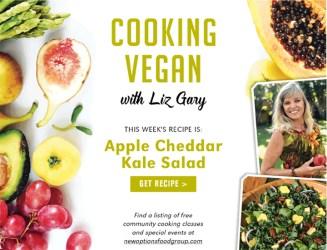 This Week: Apple Cheddar Kale Salad