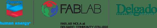 Fab Lab Chevron Delgado Logos