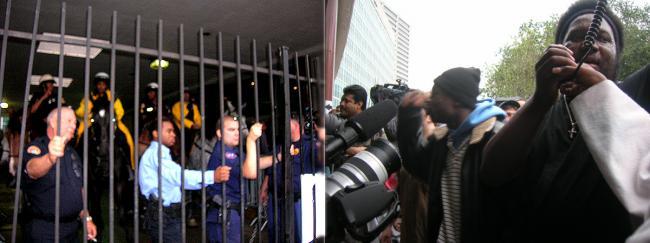 Police Attack Protes...
