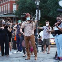 Video + Photo: Violin Players Gather At Jackson Square For Violin Vigil For Elijah McClain