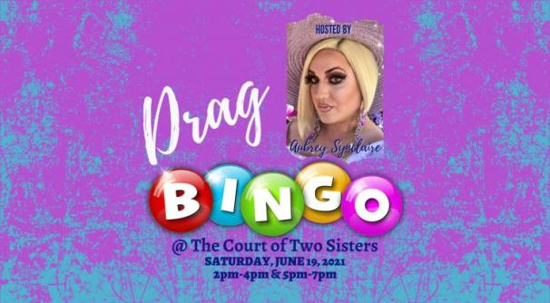 drag bingo the court of two sisters