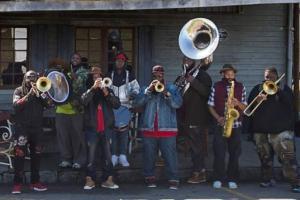 hot 8 brass band howlin wolf new orleans