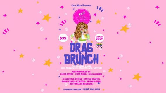 drag brunch tasting room new orleans