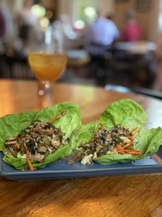 Chili Crab Lettuce Wrap Cavan