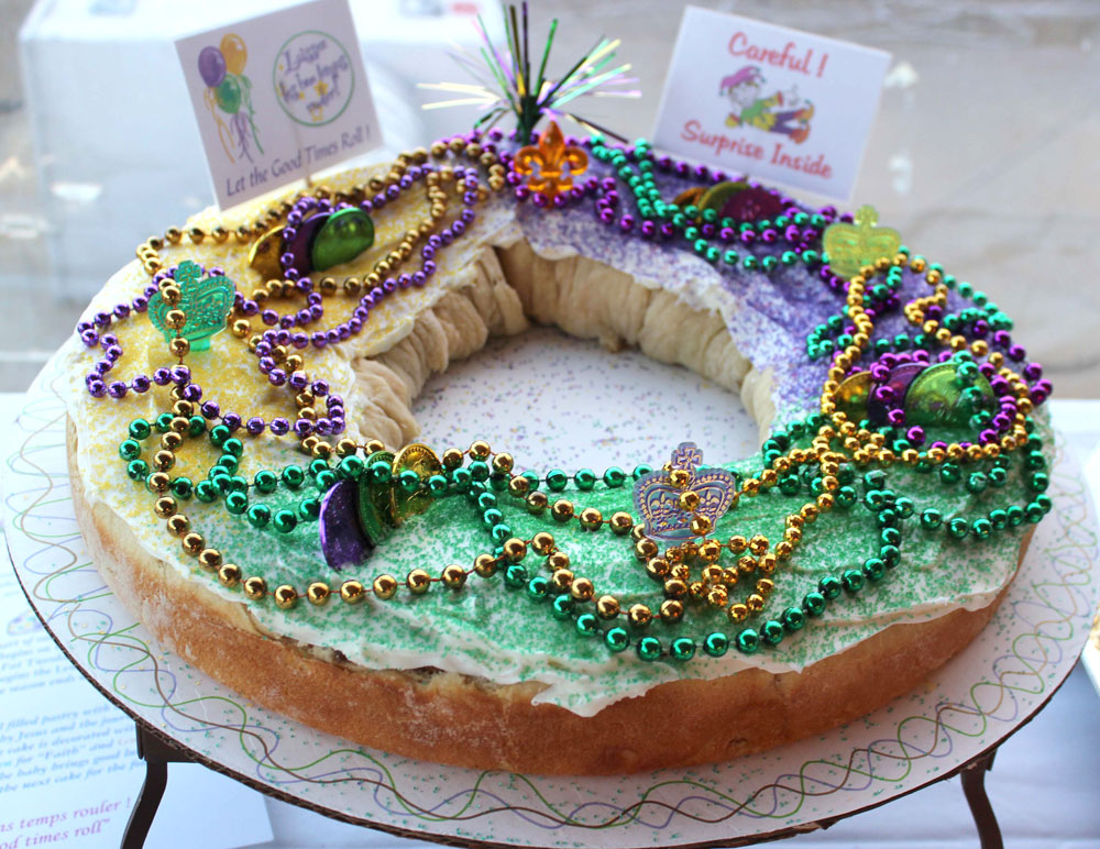 New Orleans Sweet Treats King Cake