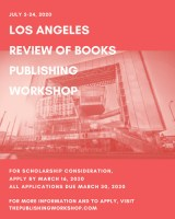 Los Angeles Review of Books 2020 Publishing Workshop