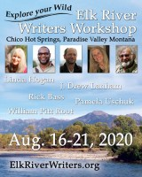 2020 Elk River Writers Workshop Flier