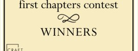 CRAFT 2019 First Chapters Winners