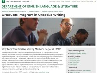 Eastern Michigan University Graduate Program in Creative Writing website