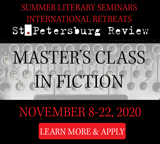 2020 Virtual Master's Class in Fiction banner ad