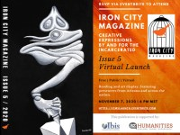 Iron City Magazine Issue 5 Launch Party flier