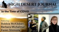 Screenshot of High Desert Journal's Virtual Salon In the Time of COVID