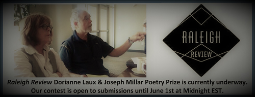 Raleigh Review 2021 Laux/Millar Poetry Prize banner