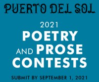 Puerto del sol 2021 Poetry & Prose Contests banner