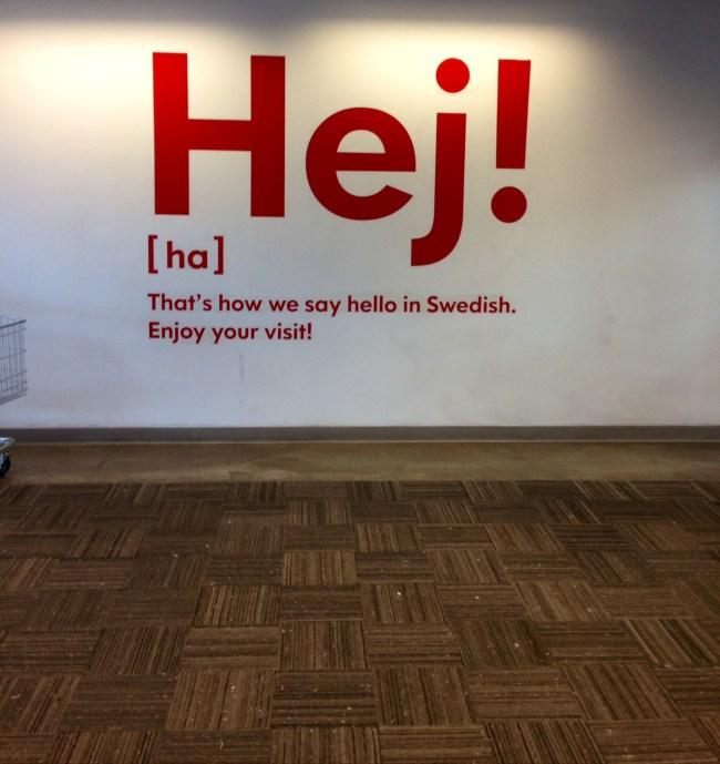 """How we say """"Hi"""" in Sweden"""