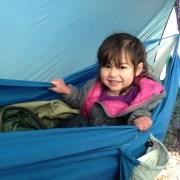 qi in the hammock boat