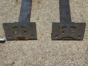 JD 3020 4020 4320 REPRODUCTION DOUBLE STACK WEIGHT RAILS 03056