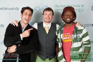 Sam, Shawn and Chidi