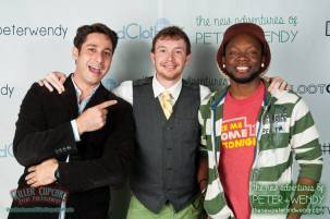 Sam, Shawn and Chidi