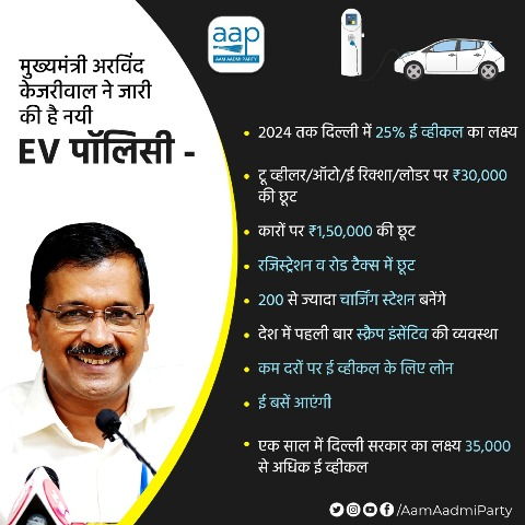 delhi electric vehicle policy