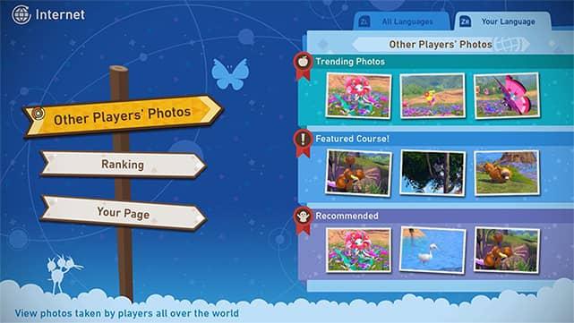 New Pokemon Snap Nintendo switch Online Photo Board new Pokémon snap