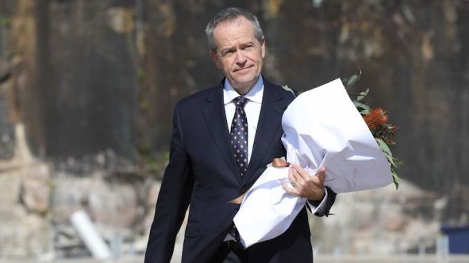 bill shorten flowers