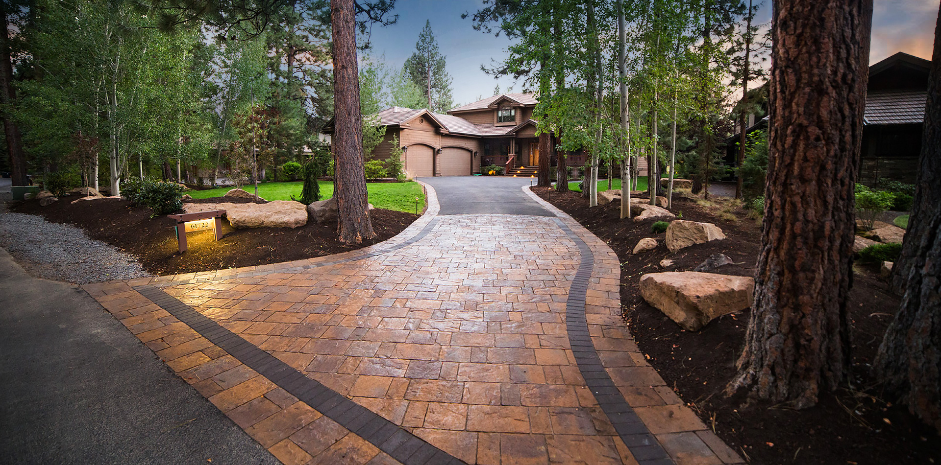 Paver Patios and Walkways | Newport Ave Landscaping on Landscaping And Patios  id=54270