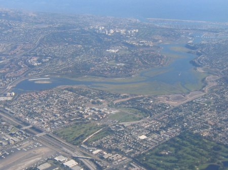 Aerial View of Upper Newport Bay