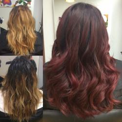 Redhead, Red Hair, Ginger, Hair Salon, Hair Color, Hair cut, Hightlights, Balayage, Newport Beach, Orange County, Hair Stylist, Costa Mesa, Irvine, Hair Style, Blow dry