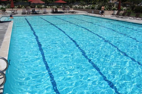 Community pool in Irvine