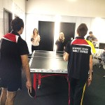 Newport Beach table tennis opening