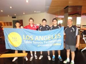 USC versus Newport Beach Table Tennis