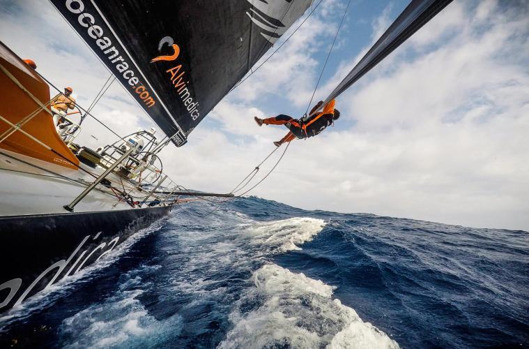 Nick dana Volvo ocean race Newport ri