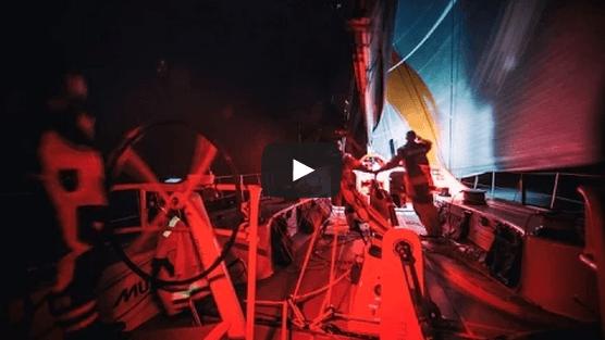 Ocean Racing at night