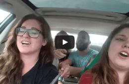 selfie stick car crash