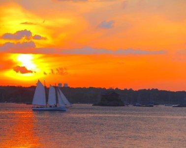 Adirondack II Newport RI Sunset
