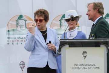 Billie Jean King Ring Hall of Fame