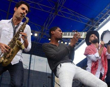 Newport Blues Festival Jon Baptiste