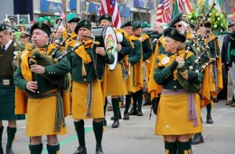 AOH Newport Pipes and Drums