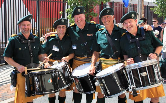 AOH Pipes and Drums