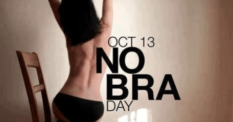 No bra day