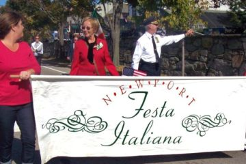 newport ri columbus day parade
