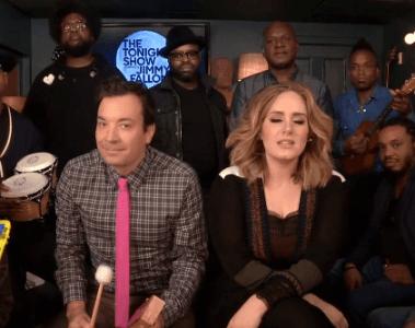 Jimmy Fallon Adele Roots Hello