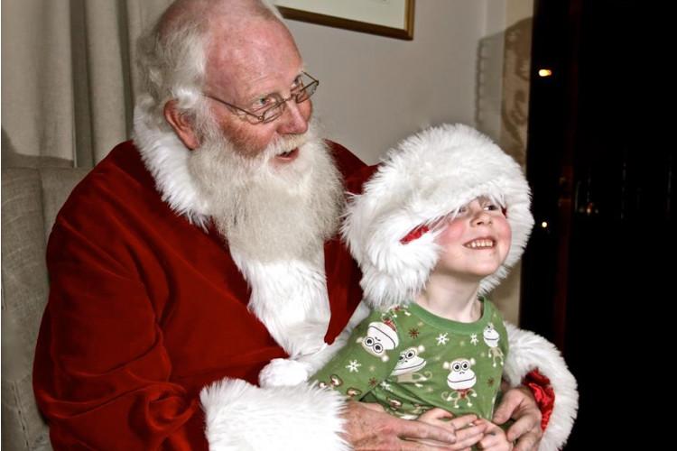 Santa Newport Rhode Island Gavin Denneny