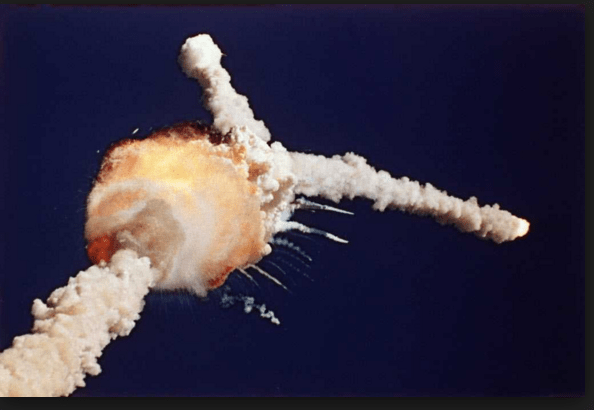 space shuttle challenger 33 years ago - photo #1