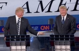 Trump Debates Himself