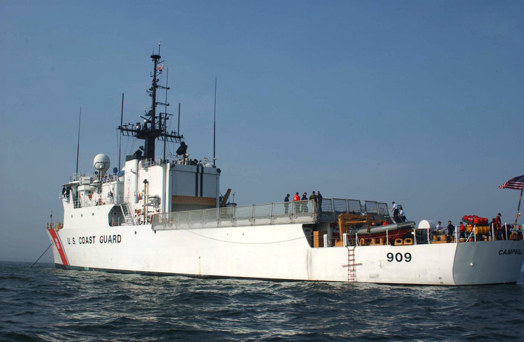 Coast Guard Cutter Campbell