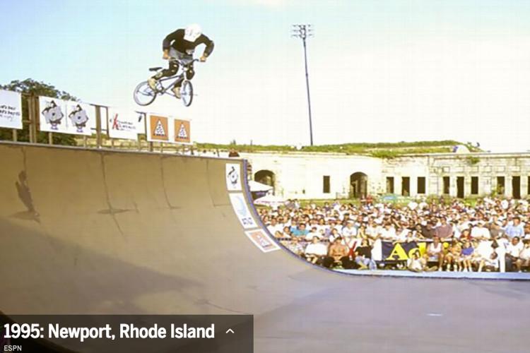 Dave Mirra Newport Ri X Games