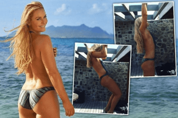 Lindsey Vonn pullups