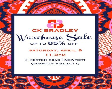 CK Bradley Warehouse Sale